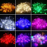 10/20M 100/200LED Bulbs Fairy Xmas Wedding String Lights Decor Christmas Lamps