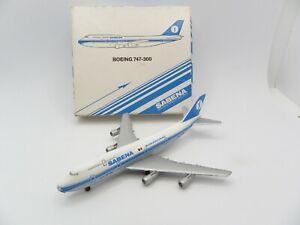 Boeing 747-300 Sabena Belgian 901/6 Schabak IN Box Aircraft Miniature Rare