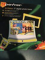 Spongebob In-vision 7 3 In 1 Digital Photo Frame-new