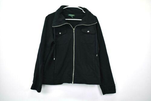 Zip 100 Women's X Cotton Ralph Lauren Jacket Full Large qw7TX66Y