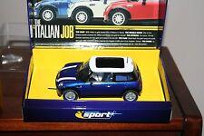Scalextric C2539A Mini Cooper  'The Italian Job' Blue Mini Ltd Edition - MIB
