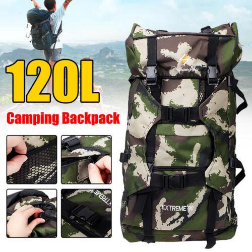 120L Rucksack Reiserucksack Trekking Armeerucksack Militär Taktisch Assault
