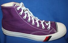 Vintage~PRO Keds~Basketball~High Top Sneakers~Purple~Mens Size 11M~NICE!!