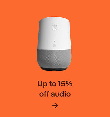 Up to 15% off audio
