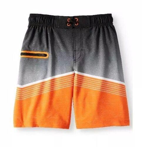 Youth Boys Orange Swim Trunks    Size XS 4-5