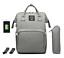 Sac-a-Dos-a-Langer-Bebe-Maman-Maternite-Sac-a-Main-Baby-USB-Hook-Bottle-Bag miniatuur 6