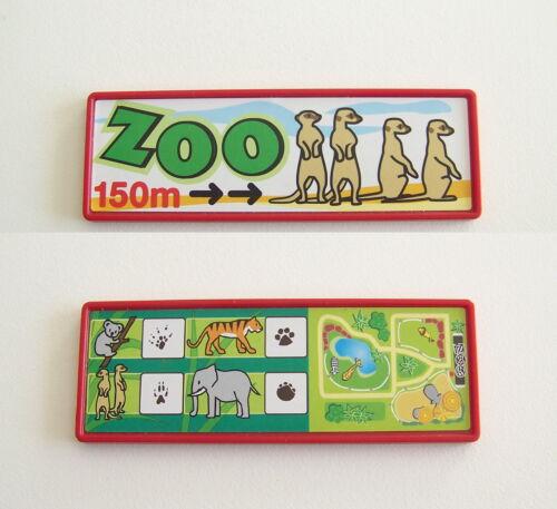 PLAYMOBIL ZOO Panneau Affiche Informations Centre de Soins 4009 O2266