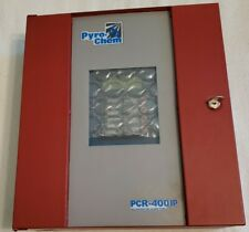 Pyro Chem Pcr 400ip Releasing And Fire Alarm Control Panel Notifier Afp 200