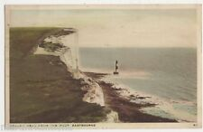 Beachy Head from The West, Eastbourne 1937 Postcard, B425