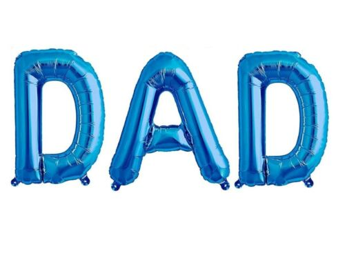 Details about  /DAD FOIL BALLOON Happy Father`s Day Birthday Gift Self Inflatable GMFAT2798 UK