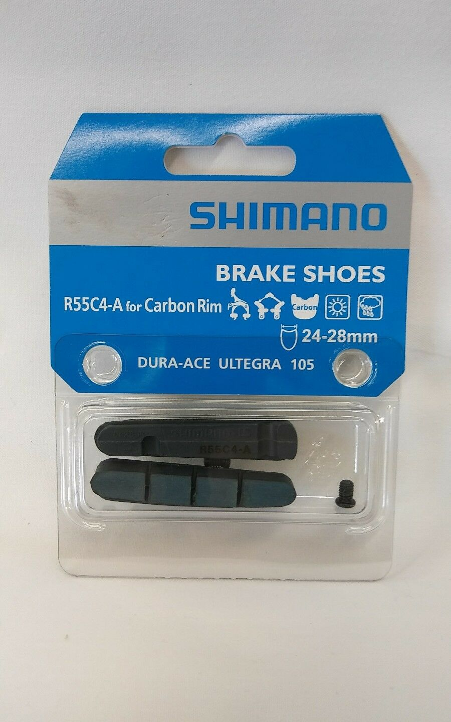 SHIMANO  BRAKE SHOES R55C4-A CARBON RIM DURA-ACE ULTEGRA 105  save up to 70%