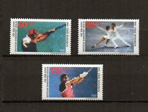Berlin-1988-postfrisch-Nr-801-803-Olympische-Spiele