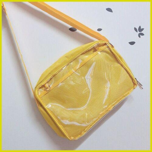 Japanese Kawaii Transparent Itabag Messenger Bag Handbag Shoulder bag 8Color