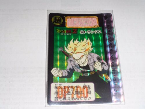 DRAGON BALL Z CARDDASS HONDAN PART 10 no:380 PRISM CARDS MADE IN JAPAN