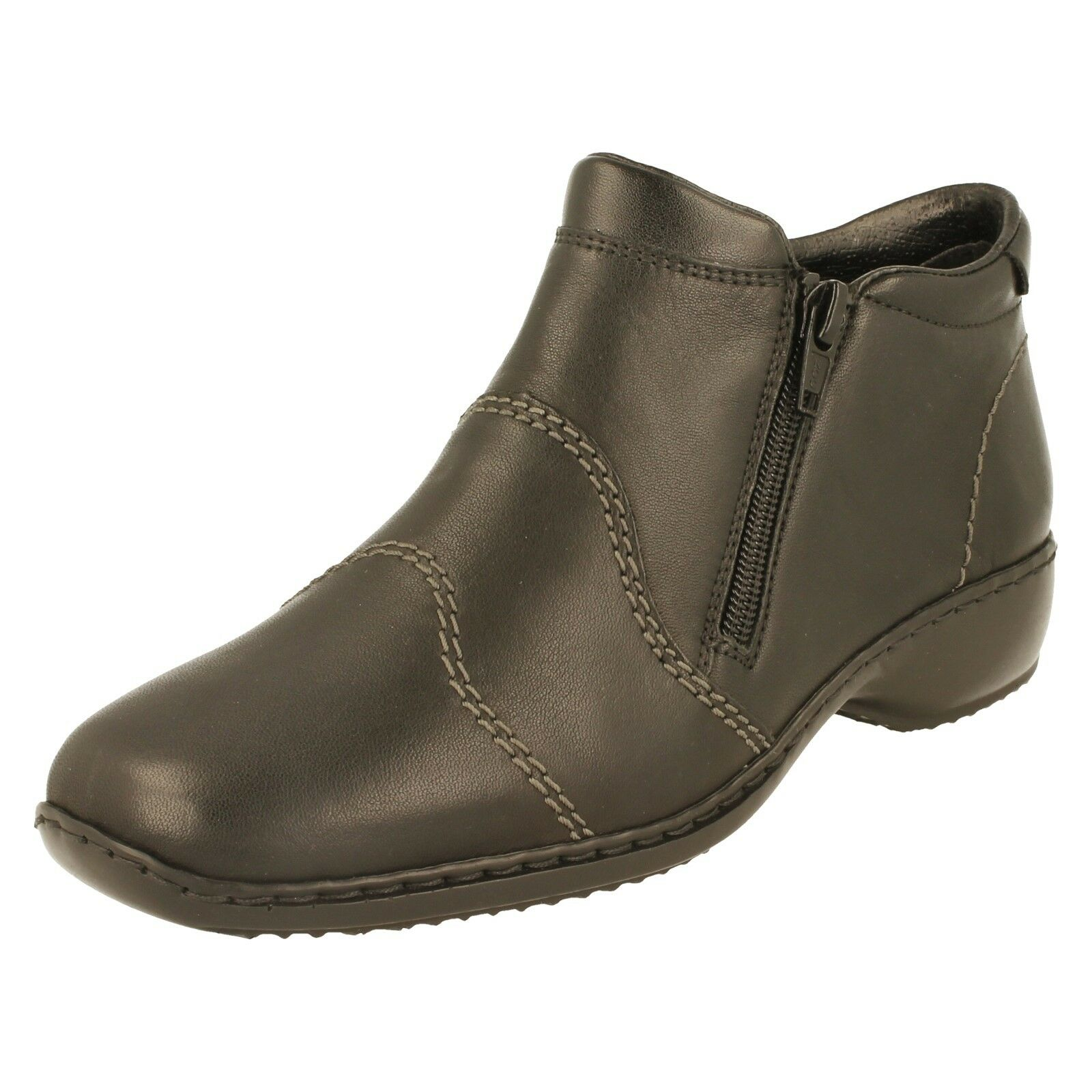 Ladies Rieker Warm Lined Ankle Boots - L3892