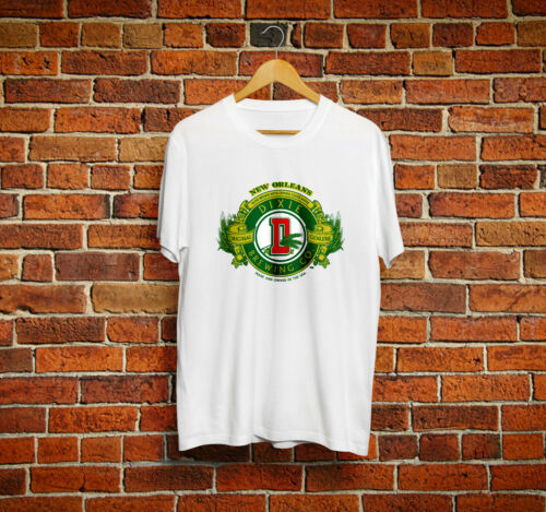 Dixie Brewing T-Shirt Beer Drinks New Orleans Logo Crew Tee Men/'s Size Usa S-2XL