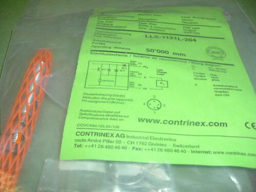 CONTRINEXLLS 1121L 204 LASER RECEIVER SENSOR SWITCH. NEW PACKAGED