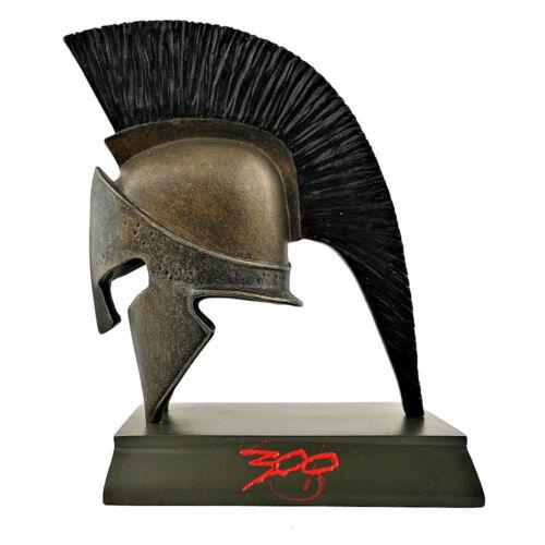 raro 300 ELMO SPARTANO Leonida 14cm in resina dipinta a mano da collezione