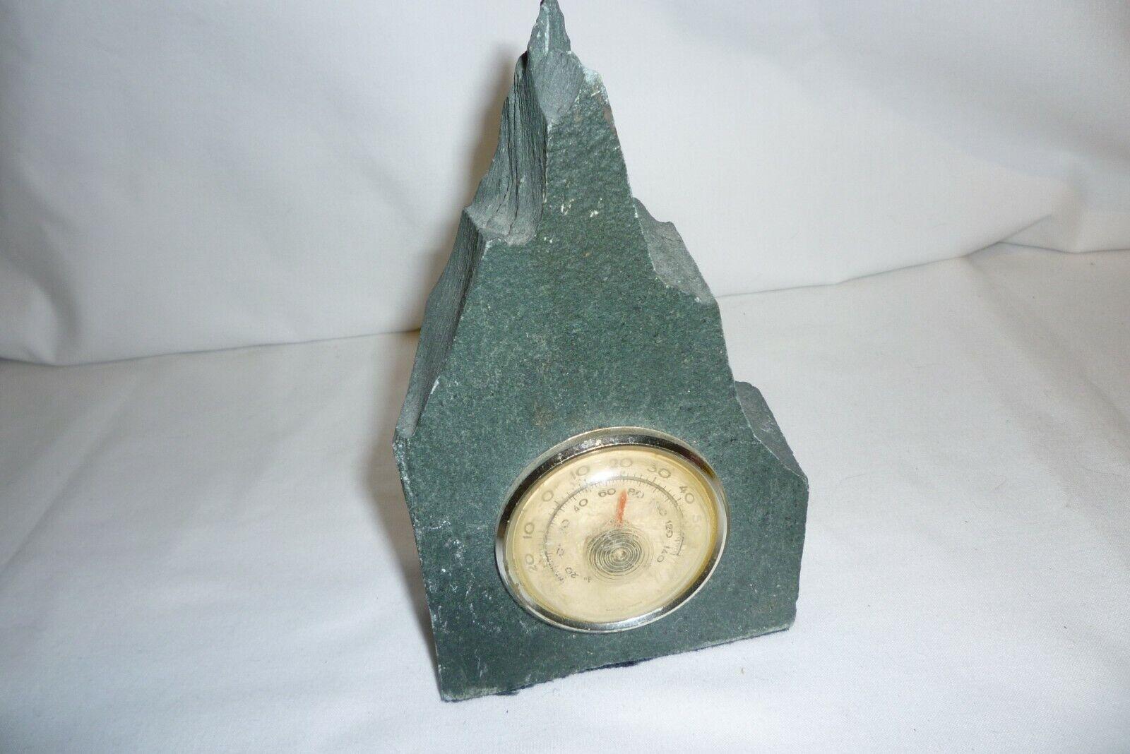 Slate Rock Thermometer Ornament