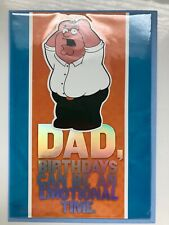 """Official Licensed /""""FAMILY GUY/"""" Happy Birthday Cards"""