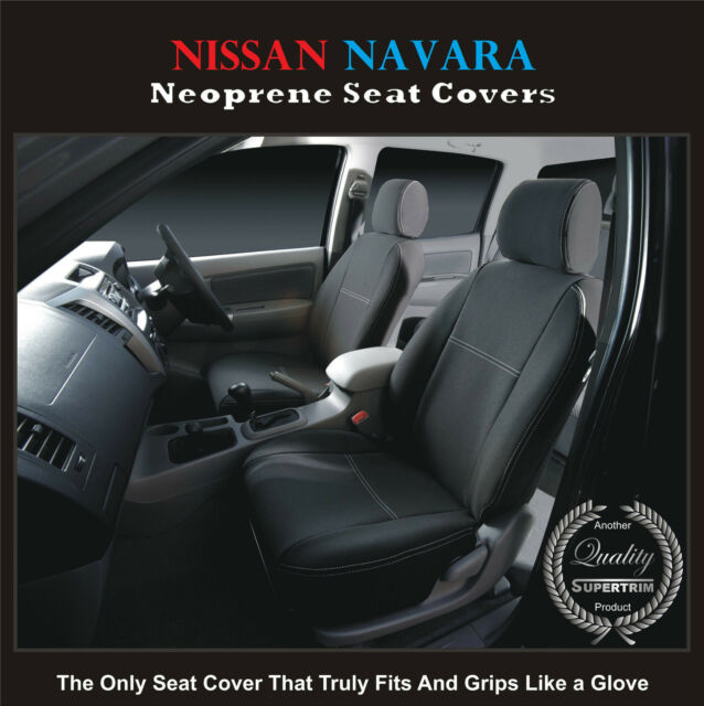 Front Car Seat Cover fits Nissan Navara D22 STR PREMIUM neoprene Waterproof