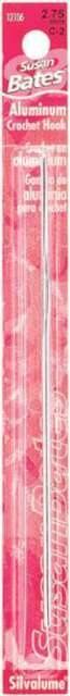 "Silvalume Aluminum Crochet Hook 5.5/"" Size E4//3.5mm 077216007048"