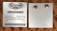 US Army Air Assault wing 1.50 inch Fullsized brushed Dress Uniform badge award