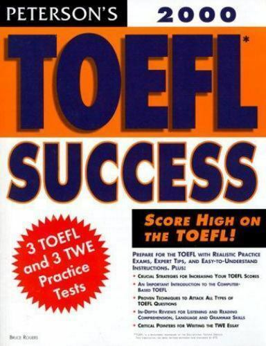 TOEFL Success 2000 by Peterson's Guides Staff