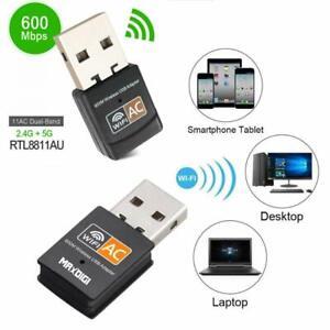 Details about Zgemma Maxdigi Wifi Dongle Dual Band 5GHz 600 Mbps Mini  Wireless Network USB