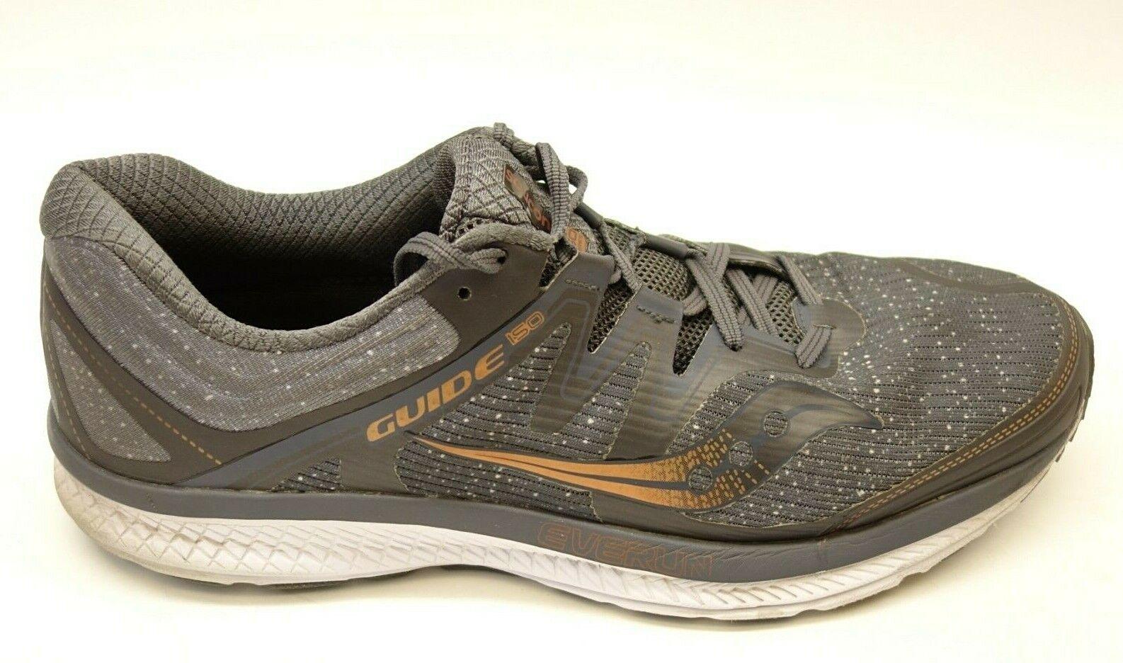 Guida di Men di Saucony ISO Everun Mesh Athletic  Support Running scarpe Dimensione 13  fornire un prodotto di qualità
