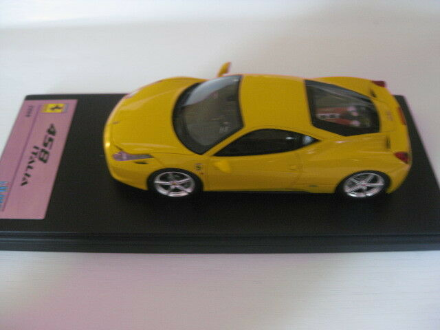 FUJIMI tsm10fj003 Ferrari 458 Italia 2009 jaune 1 43 Nouveau dans neuf dans sa boîte
