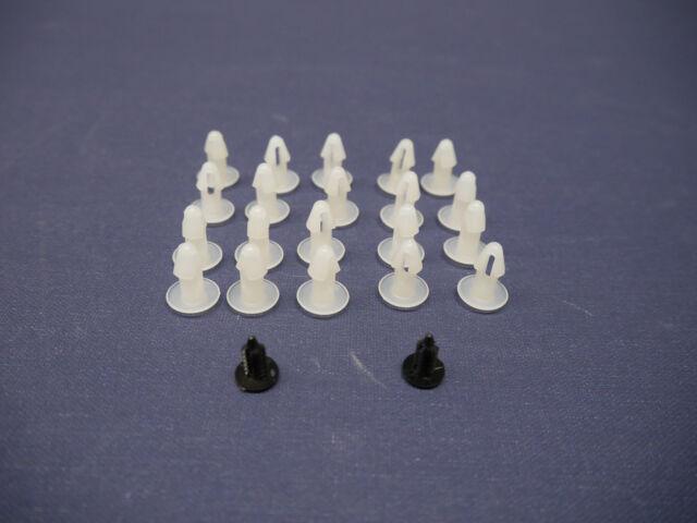Satz Clips Montage Türdichtung für Mercedes-Benz R/C 107 SL/SLC Clips Door Seal