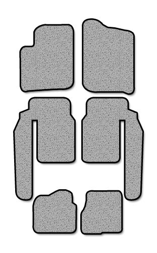 2001-2006 Suzuki XL7 4 pc Set Factory Fit Floor Mats