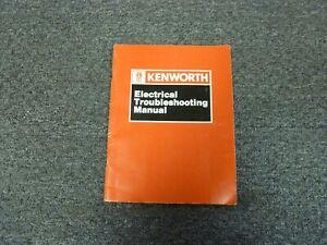 1991-1992 Kenworth W900B Truck Electrical Troubleshooting ...