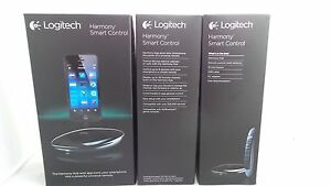 Logitech Harmony Smart Control W/ Smartphone App + Simple Remote Black NEW
