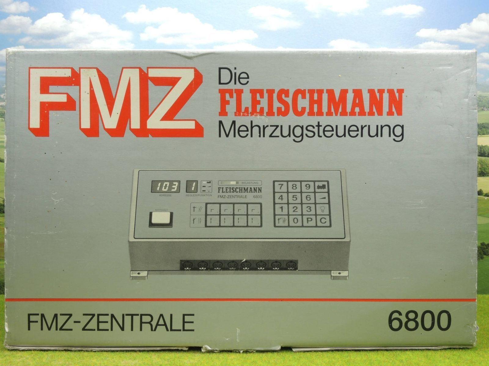 1-6800 FMZ-FLEISCHMANN CENTRALE MULTI-COMMANDE FMZ USATO COME da FOTO