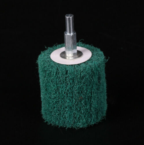 Polishing Pad Mop Wheel -6mm Shank 1Pcs Of Coarse Grit Mounted Sanding Mop