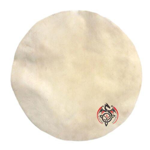 """Goat Skin Drum Head Skin Banjo Snare Drums Djembe Native Frame Irish Bodhran 18/"""""""