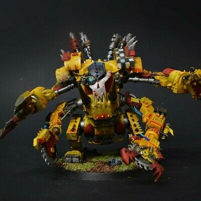 Warhammer 40K Ork Deff Dread Mâchoire Visage Plaque Vision fentes ports Bits
