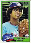 1981 Topps John Henry #216 Baseball Card