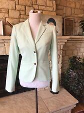 Calvin Klein Mint Green Blazer 8