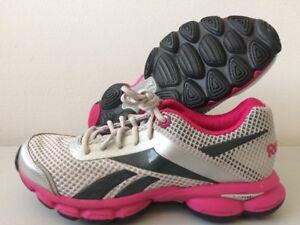 Détails sur REEBOK Runtone Plus Tonifiant Chaussures Femme Running Baskets UK 8 J84216 T208 afficher le titre d'origine