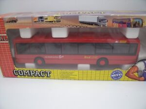 Joal Compact Ref 155 Scania Omnicity Autobus Vus Red Line/ Boite / Boxed 1:50