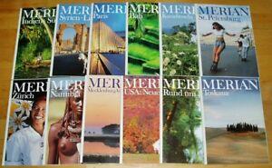 12x-Merian-1997-komplett-50-Jahrgang-Hefte-1-12-Zeitschrift-Reise-Europa-Welt