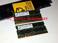 4gb Laptop Ram Memory Kit 2x 2gb Ddr2 800 Pc2-6400 Hp Dv6000 Dv2000 Dv9000 Dv3