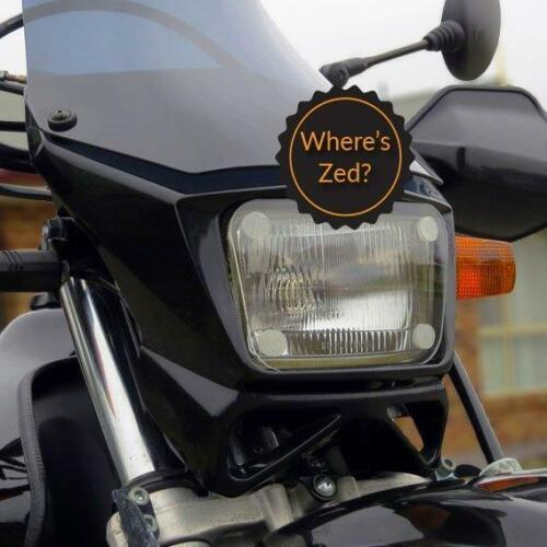 Suzuki DR 650SE 2009+ Motorcycle Headlight Protector Light Guard Kit