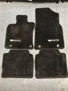 Coverking Custom Fit Front and Rear Floor Mats for Select Lexus ES 300 Models Nylon Carpet CFMBX1LX9217 Black