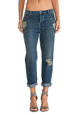 FREE PEOPLE $128 LOTUS DESTROYED LOW RISE BOYFRIEND JEANS 26