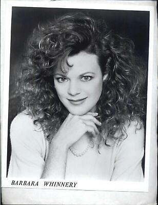 Barbara Whinnery - 8x10 Headshot Photo w/ Resume - Days of