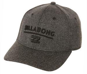 bcbac9389a1c2 NEW + TAG BILLABONG MENS BOYS UNITY L-XL CURVED PEAK FLEXFIT CAP HAT ...